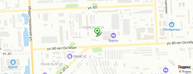Автомойка МойДодыр — схема проезда на карте