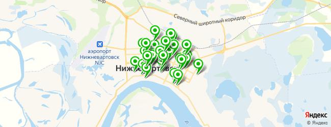 стоматологическая клиника на карте Нижневартовска