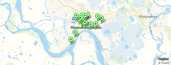 мотошиномонтаж на карте Нижневартовска