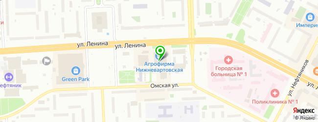 Салон-магазин Волшебница — схема проезда на карте