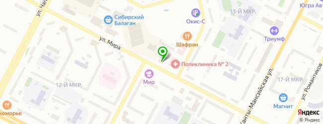 Магазин протезных и ортопедических изделий — схема проезда на карте