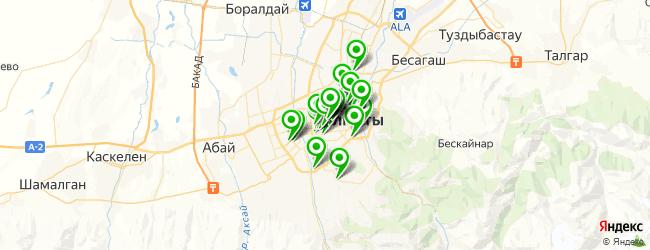 компьютерная помощь на карте Алматы