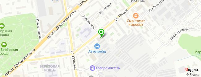 Интернет-магазин Top54.ru — схема проезда на карте