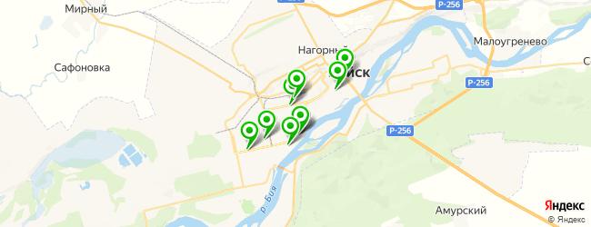 детский развлекательный центр на карте Бийска