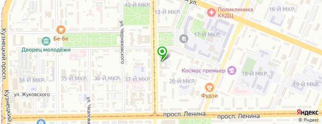 центр флебологии на карте Кемерово