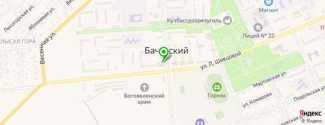 металлоремонт на карте Бачатского