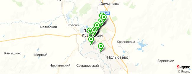 обменный пункт на карте Ленинска-Кузнецкого