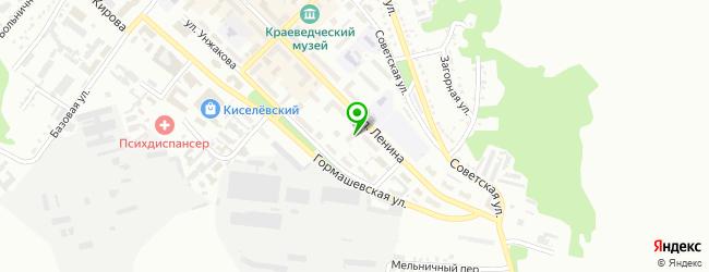 мотосервис на карте Киселевска